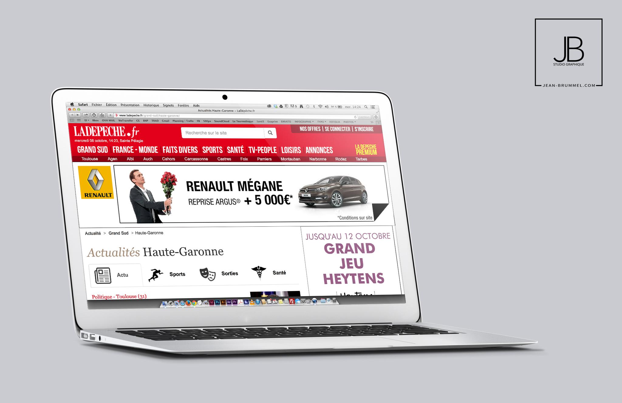 Renault toulouse depeche midi-pyrénées grand sud mégane monde fait divers loisirs annonces actualité retail group - jean brummel