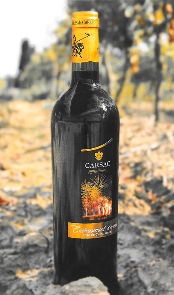 Etiquette de vin Carsac