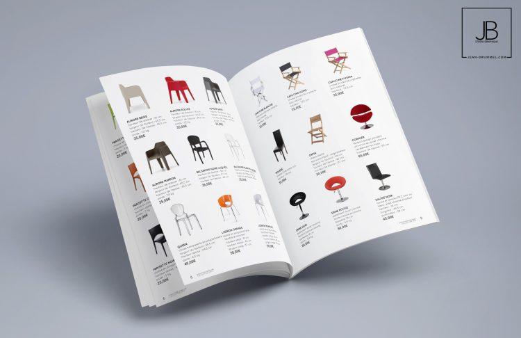 Catalogue Produits – Solution Mobilier